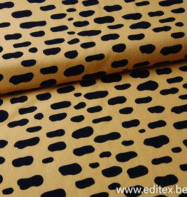 Eva Mouton French Terry Panter Pattern - Eva Mouton