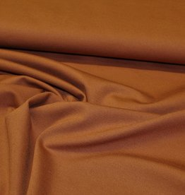 A La Ville Haute Couture Coupon 0.70x1.40m Punta di roma  cognac