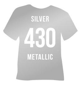 Premium flex Poli flex 430 - Silver Metallic