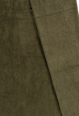 Bamboe fleece kaki groen