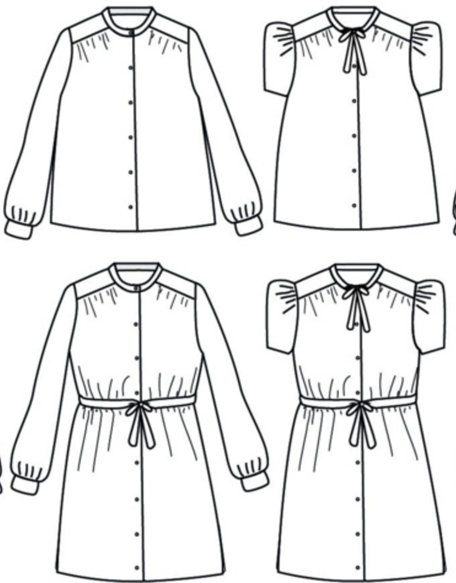 Ikatee Alex  Mum - blouse of kleed