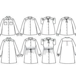 Ikatee Alex - blouse of kleed