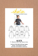 Alex - blouse of kleed
