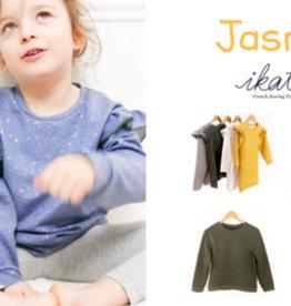 Ikatee Jasmin - sweaterjurk, T-shirt, slaapkleedje met of zonder ruffles