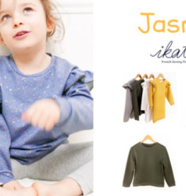 Jasmin - sweaterjurk, T-shirt, slaapkleedje met of zonder ruffles