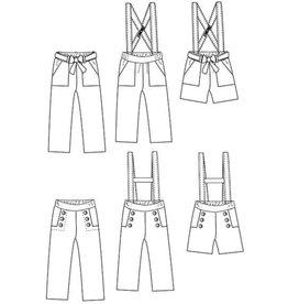 Ikatee Avana - Losse broek, short, salopette