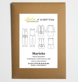 Marieke - jumpsuit, playsuit, jurk
