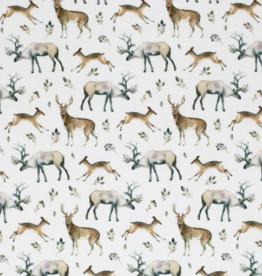 Jersey Digital Print - Reindeer