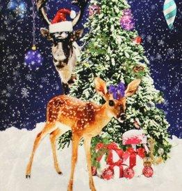 Christmas Deer paneel