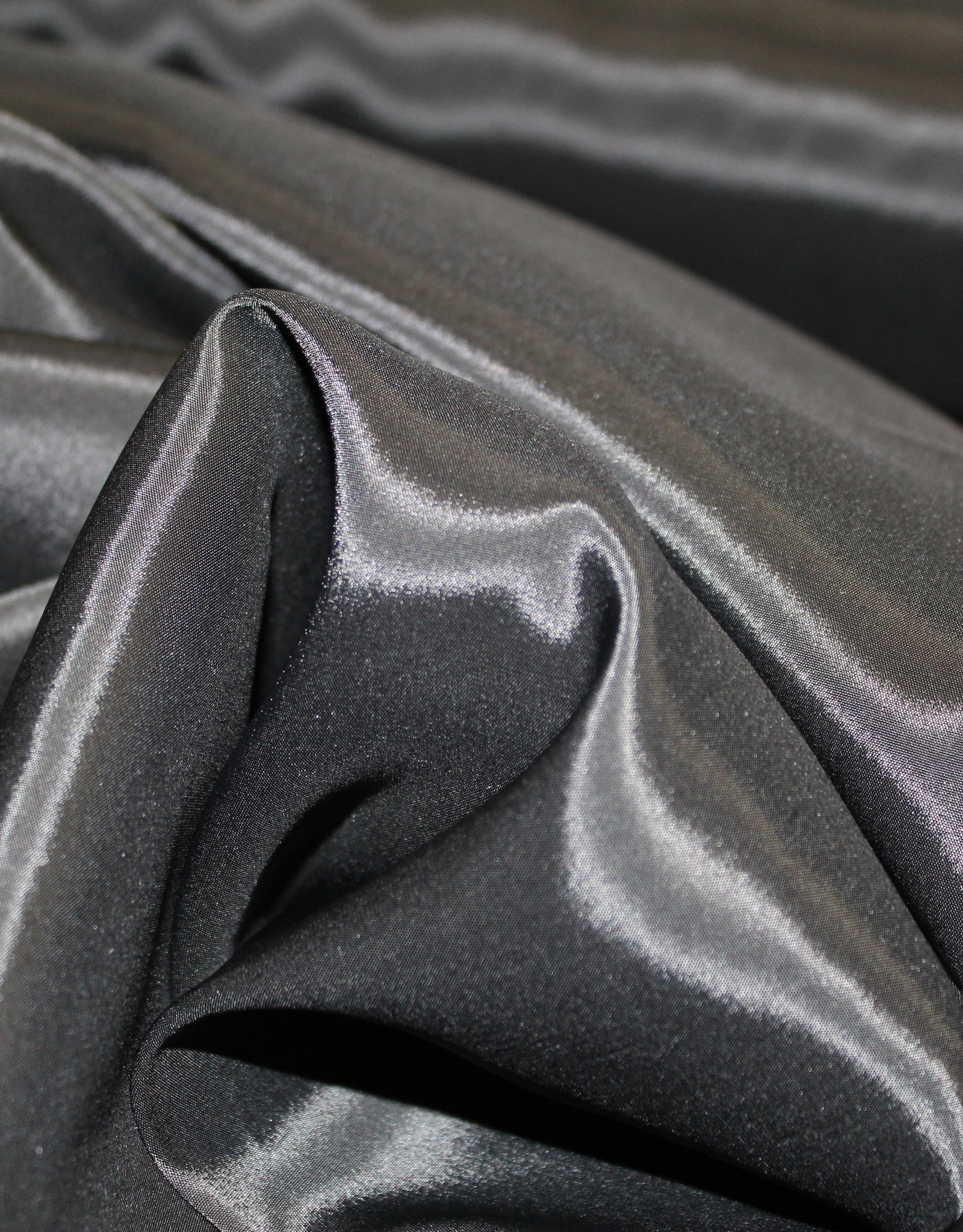 Cupro voering lycra zwart