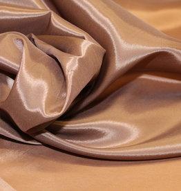 Cupro voering lycra bruin