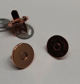 Magneetsluiting 18mm koper