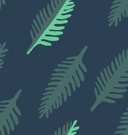 About Blue Fabrics Wonders of life - LEAF