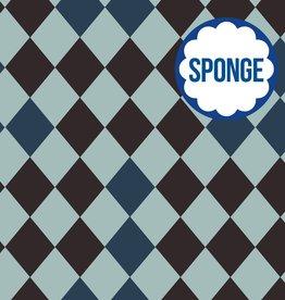 About Blue Fabrics Wonders of life - HARLEQUIN Sponge