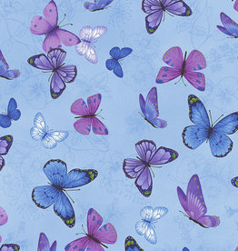 Blue Butterfly - Timeless Treasures