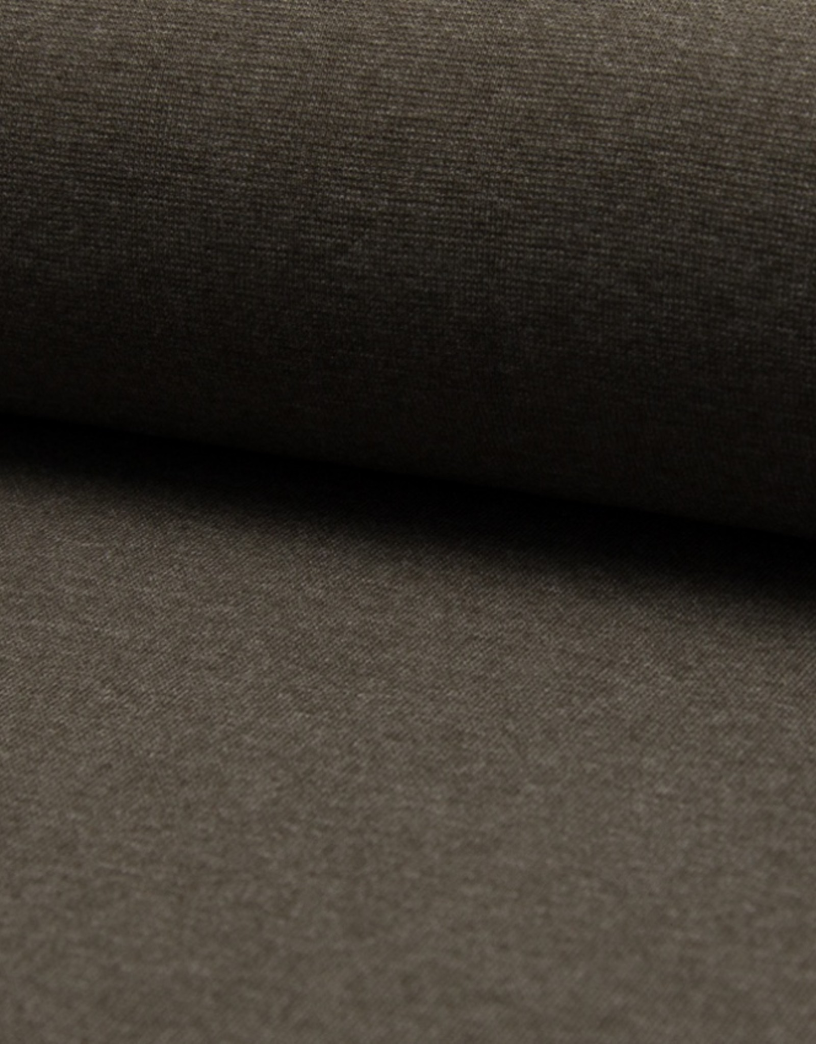 Boordstof dark donkerbruin 37cm tubular
