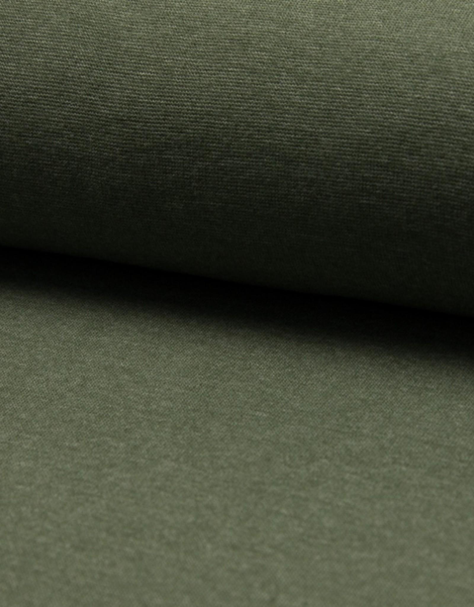 Boordstof khaki mélange 37cm tubular