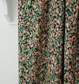Atelier Jupe Viscose met kleine, kleurrijke print