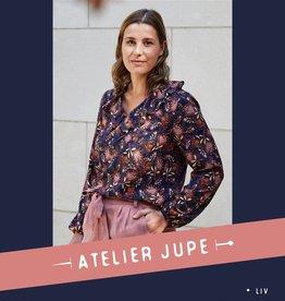 Liv blouse met volant - Atelier Jupe