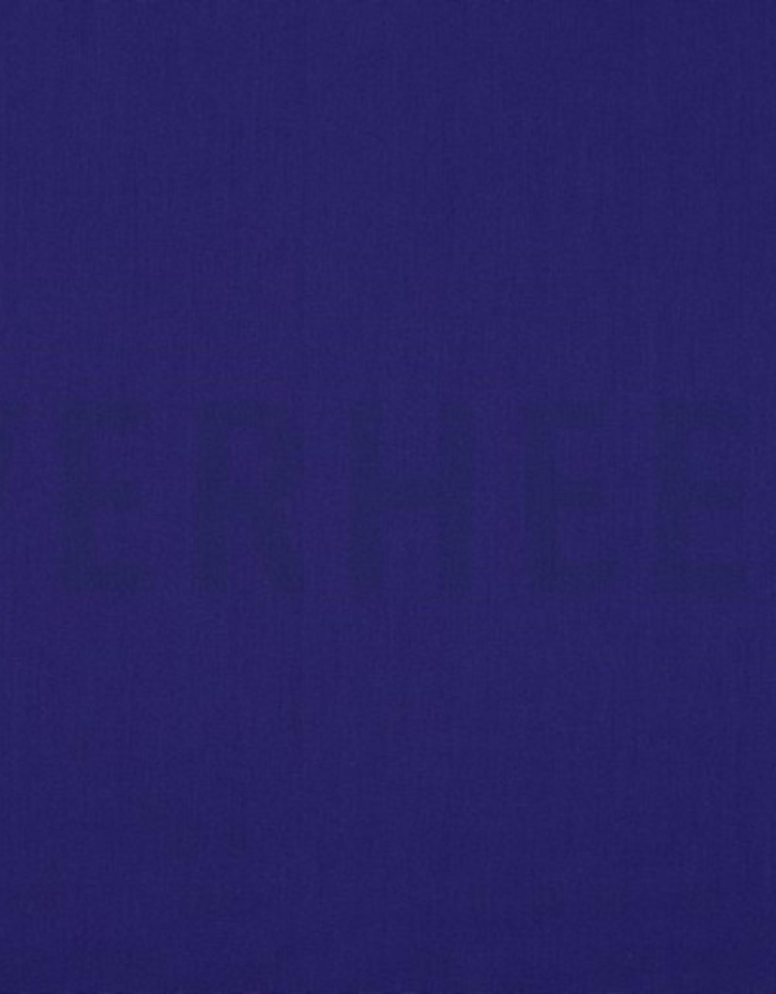 Uni katoen paarsblauw