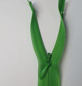 Naadverdekte rits C col.150 grasgroen 22cm