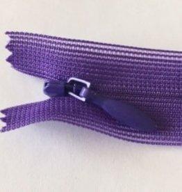 YKK Naadverdekte rits C col.281 purple 22cm