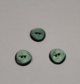 Knoop 19mm glanzend groen