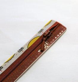 Optilon Synthetische rits druppel S40 col.987 25cm