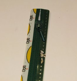 Synthetische rits druppel S40 col.461 18cm