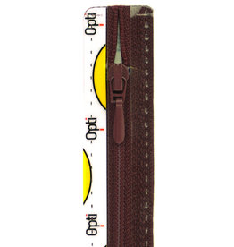 Synthetische rits druppel S40 col.763 18cm