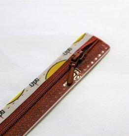 Synthetische rits druppel S40 col.987 18cm