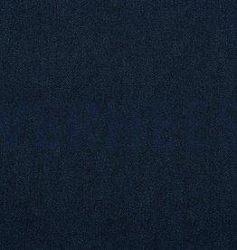Poppy French Terry digital jeans-lookalike donkerblauw