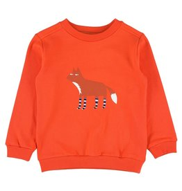 Lily Balou Brushed Sweat Mandarin Red