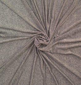 Glittertricot donkergoud