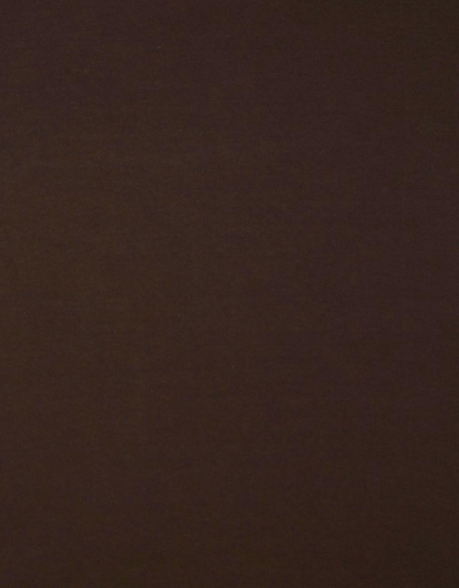 boordstof donkerbruin 46cm tubular