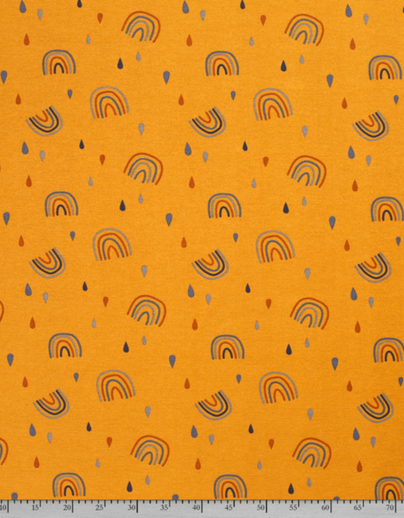 Nooteboom Deco canvas Loneta regenboog oker