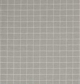 Nooteboom Deco canvas Loneta grid ruiten mint