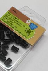 Pakket koordstoppers voor mondmasker elastiek zwart