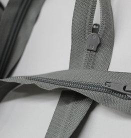 Spiraalrits grof aan de meter grijs (incl 1 schuifer per 50cm)