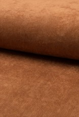 Babycord ribfluweel met stretch zalmroze