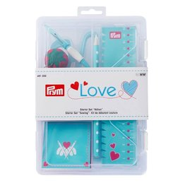 Prym Prym  - starter set 'sewing' Love blauw - 651 222