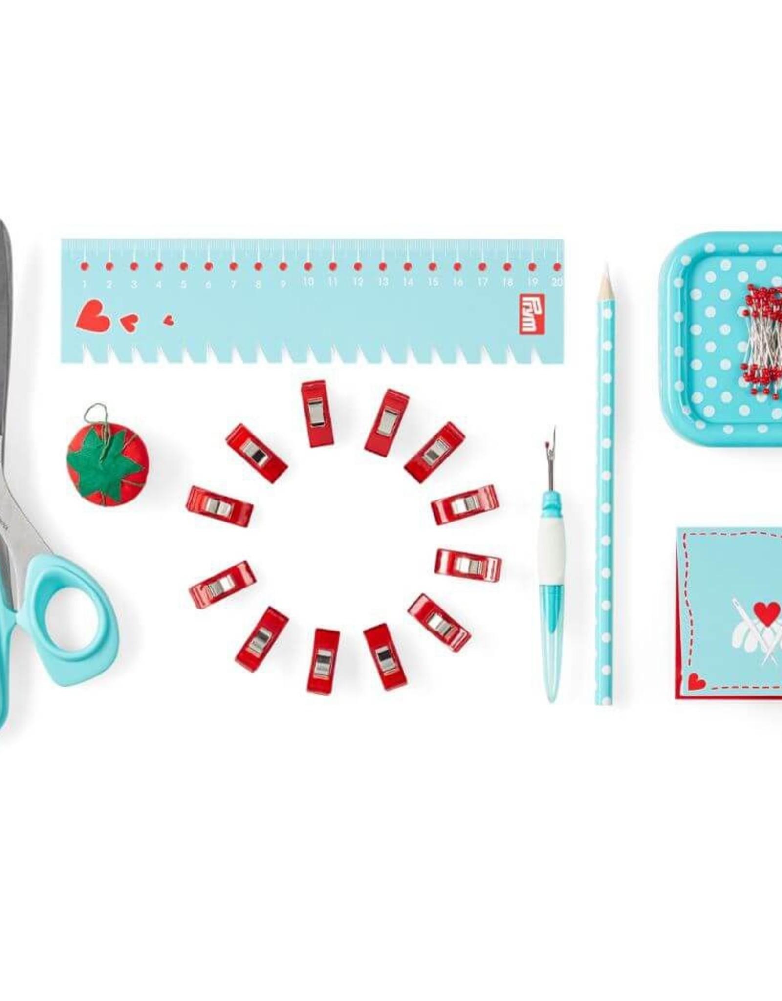 Prym Prym  - starter set 'sewing' Love blauw - 651 222