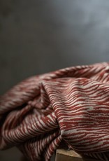 Mind the Maker Organic bark jacquard - sienna/dune