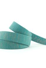 See You At Six Tassenband - Slate Blauwgroen - R