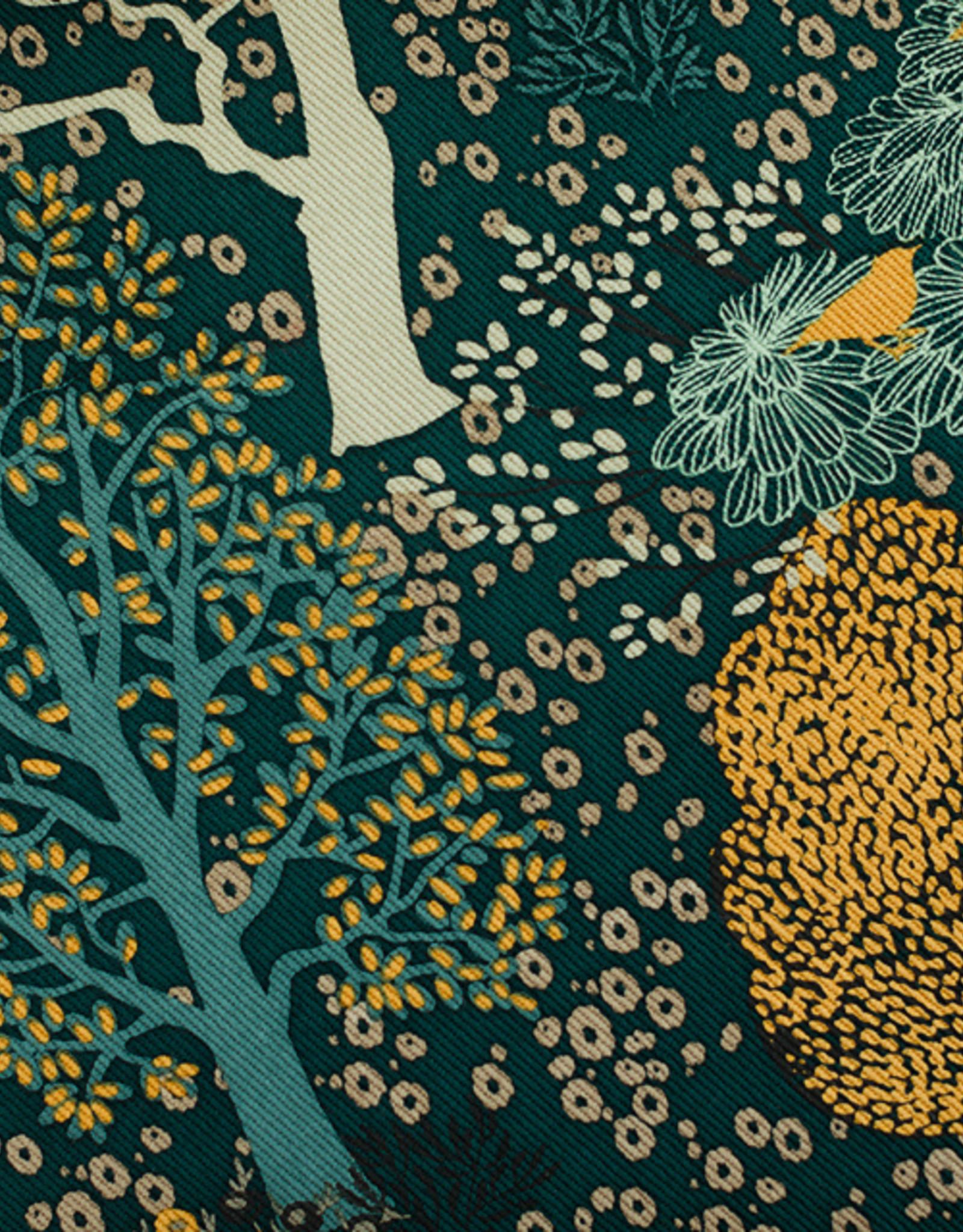 See You At Six Oriental Garden - M - Cotton Canvas Gabardine Twill - Gevelgroen - R