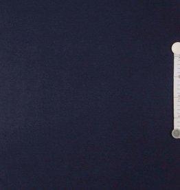 Anti-pilling fleece Marine Blauw
