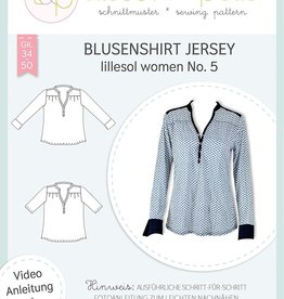 Lillesol & Pelle Poloshirt blouse  dames no.5