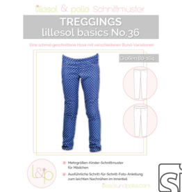 Lillesol & Pelle Treggings kinderen no.36