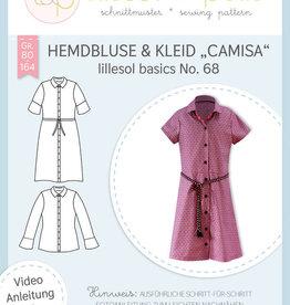 Hemdsblouse en -kleed Camisa no 68