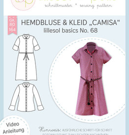 Lillesol & Pelle Hemdsblouse en -kleed Camisa no 68